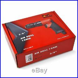Teng Tools Pistol Style 10MM Chuck 1,800 RPM Pneumatic Air Drill