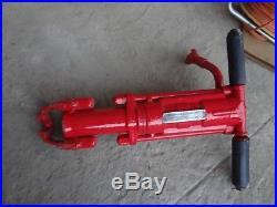 Thor IPT Pneumatic air Rock Drill 55lb model 75 1 by 4 1/4 shank breaker hammer