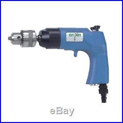 UDT onpin Air Drill Gun UD-8P Pnematic Tool 1,200 RPM 10mm Capacity EN