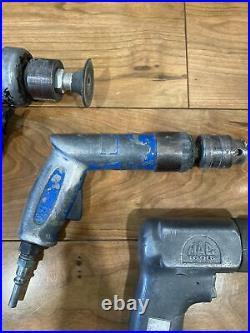 Vintage Mac Matco Bluepoint Autobody Collision Grinder Sander Drill Lot Working