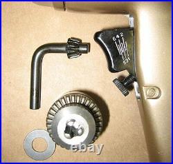 Vintage Pneumatic Air Drill Jacobs Chuck Ingersoll Rand IR D92